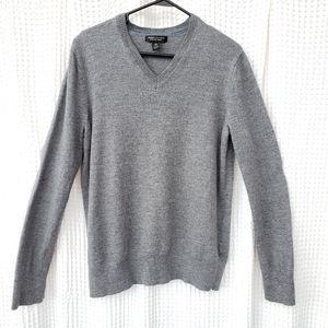 Banana Republic merino wool sweater gray XL